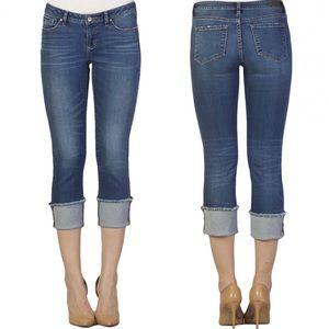 3 for $20 Dear John Playback Cuffed Raw Hem Jeans